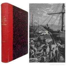 Libros antiguos: 1882 - AUTÉNTICA PRIMERA EDICIÓN - JULIO VERNE: ESCUELA DE ROBINSONES - NUMEROSOS GRABADOS - S. XIX. Lote 205525390