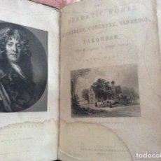 Libros antiguos: LAS OBRAS DRAMÁTICAS DE WYCHERLEY, CONGREVE, VANBRUGH Y FARQUHAR. POR LEICH HUNT, 1840. RARO. Lote 205612171