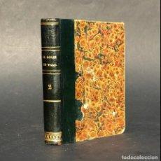 Libros antiguos: 1835 - EL GOLPE EN VAGO - GARCIA DE VILLALTA - ARMANDO COTARELO VALLEDOR. Lote 205722903