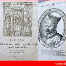 Libros antiguos: AÑO 1587: SÉNECA. FILOSOFÍA ESTOICA. IN FOLIO. 35 CM.. Lote 205828461