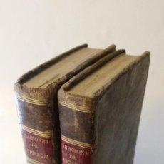 Libros antiguos: 1806 - CICERON - ORACIONES ESCOGIDAS. TRADUCIDAS AL CASTELLANO POR DON RODRIGO DE OVIEDO. 2 TOMOS. Lote 205829471