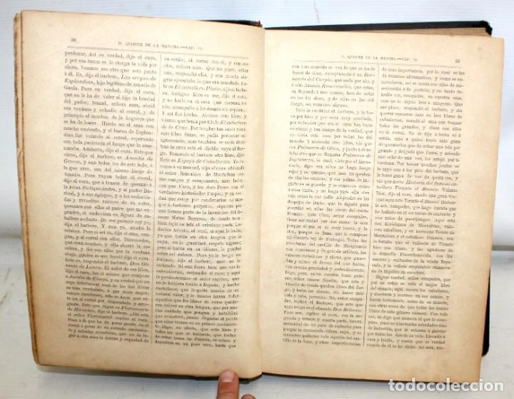 Libros antiguos: DON QUIJOTE DE LA MANCHA. CERVANTES. LAMINAS DE D. RAMON PUIGGARÍ. 4ª EDICIÓN (1881). SALVADOR RIBAS - Foto 7 - 205881241