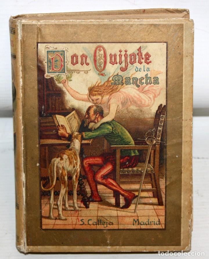 DON QUIJOTE DE LA MANCHA. CERVANTES. SATURNINO CALLEJA (EDITOR). 1905 (Libros antiguos (hasta 1936), raros y curiosos - Literatura - Narrativa - Clásicos)
