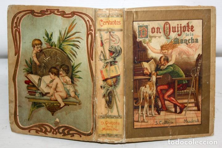 Libros antiguos: DON QUIJOTE DE LA MANCHA. CERVANTES. SATURNINO CALLEJA (EDITOR). 1905 - Foto 2 - 205885603