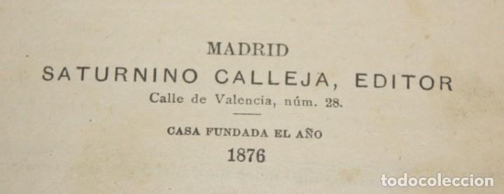 Libros antiguos: DON QUIJOTE DE LA MANCHA. CERVANTES. SATURNINO CALLEJA (EDITOR). 1905 - Foto 5 - 205885603