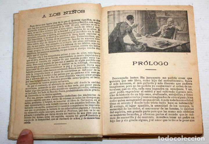 Libros antiguos: DON QUIJOTE DE LA MANCHA. CERVANTES. SATURNINO CALLEJA (EDITOR). 1905 - Foto 6 - 205885603