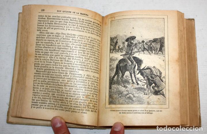 Libros antiguos: DON QUIJOTE DE LA MANCHA. CERVANTES. SATURNINO CALLEJA (EDITOR). 1905 - Foto 7 - 205885603