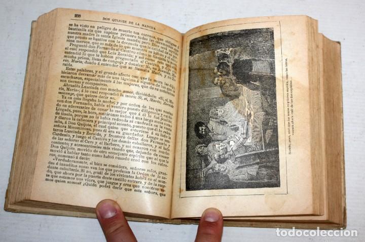Libros antiguos: DON QUIJOTE DE LA MANCHA. CERVANTES. SATURNINO CALLEJA (EDITOR). 1905 - Foto 8 - 205885603