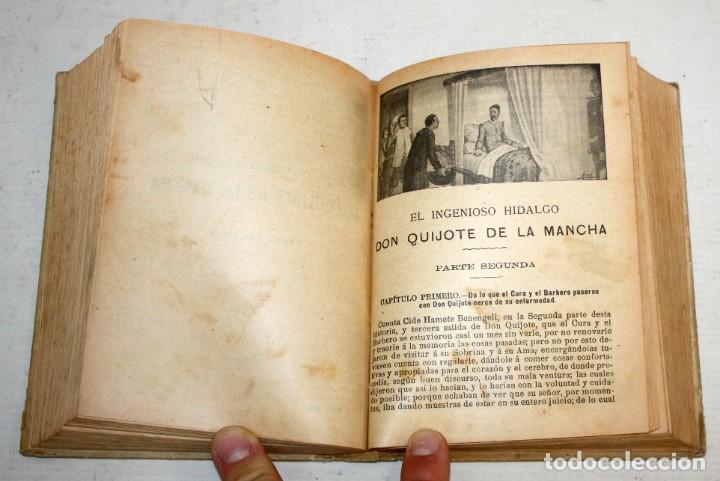 Libros antiguos: DON QUIJOTE DE LA MANCHA. CERVANTES. SATURNINO CALLEJA (EDITOR). 1905 - Foto 9 - 205885603