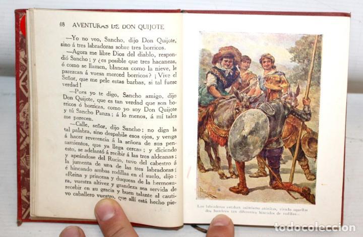 Libros antiguos: AVENTURAS DE DON QUIJOTE DE LA MANCHA. CASA EDITORIAL ARALUCE. 6ª EDICIÓN (2ª PARTE) - Foto 5 - 206089873