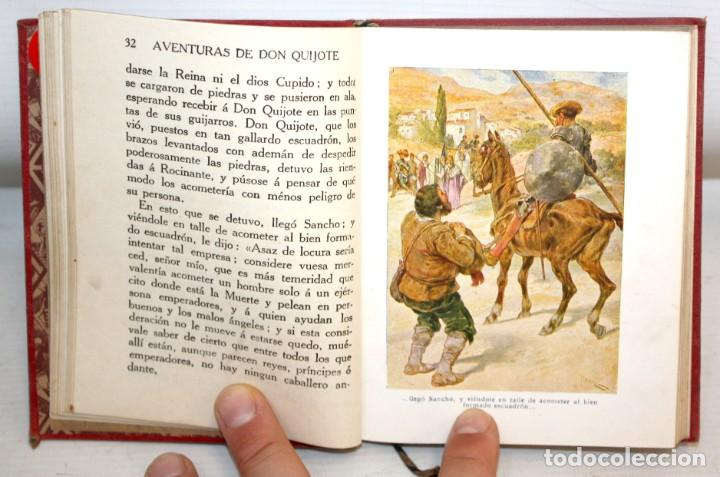 Libros antiguos: AVENTURAS DE DON QUIJOTE DE LA MANCHA. CASA EDITORIAL ARALUCE. 6ª EDICIÓN (2ª PARTE) - Foto 6 - 206089873