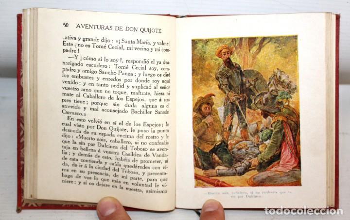 Libros antiguos: AVENTURAS DE DON QUIJOTE DE LA MANCHA. CASA EDITORIAL ARALUCE. 6ª EDICIÓN (2ª PARTE) - Foto 7 - 206089873