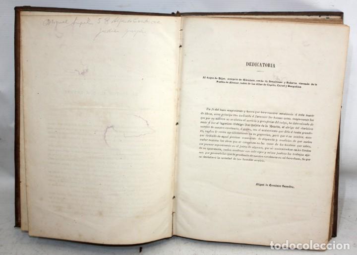 Libros antiguos: EL INGENIOSO HIDALGO DON QUIJOTE DE LA MANCHA. CERVANTES. BIBLIOTECA UNIVERSAL ILUSTRADA. 2 TOMOS - Foto 7 - 206119721