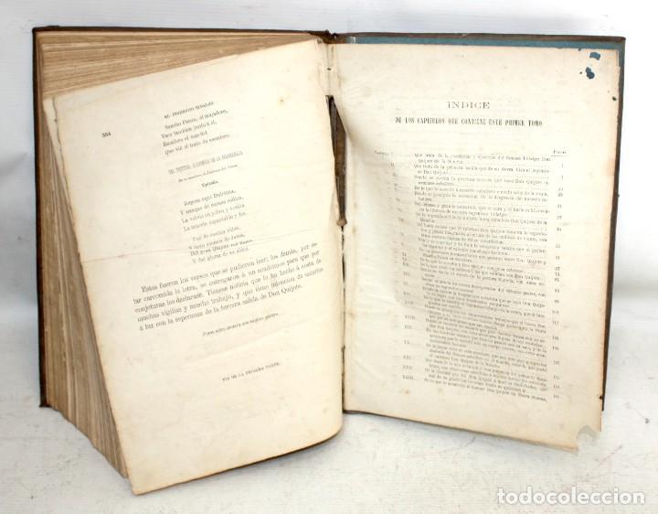 Libros antiguos: EL INGENIOSO HIDALGO DON QUIJOTE DE LA MANCHA. CERVANTES. BIBLIOTECA UNIVERSAL ILUSTRADA. 2 TOMOS - Foto 12 - 206119721