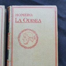 Libros antiguos: LA ODISEA -HOMERO-SEGALA Y ESTALELLA MONTANER Y SIMON 1910. Lote 206229517