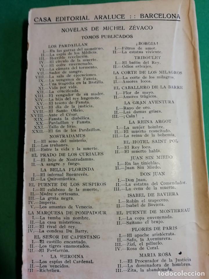 Libros antiguos: LOS PARDAILLAN EL CIRCULO DE LA MUERTE AÑO 1925 - Foto 3 - 206481403