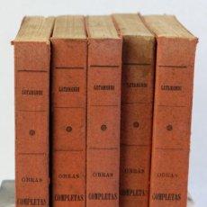 Libros antiguos: OBRAS COMPLETES-DON JOSÉ DE LETAMENDI-ESTABLECIMIENTO TIP-LIT DE F.RODRIGUEZ OJEDA 1907-5 TOMOS. Lote 206492753