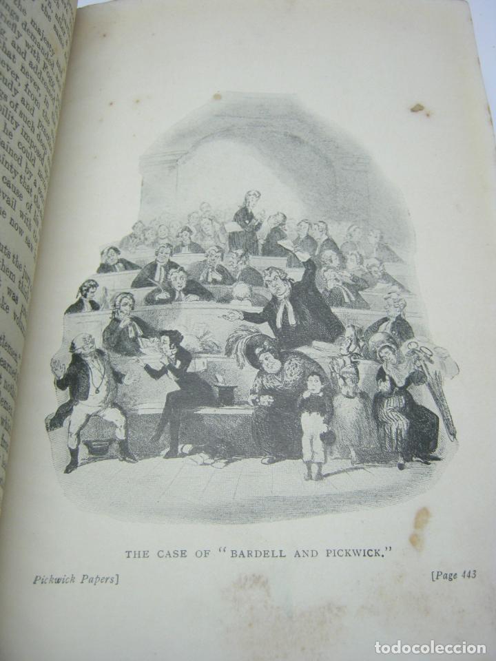 Libros antiguos: 1911 - THE POSTHUMOUS PAPERS OF THE PICKWICK CLUB. CHARLES DICKENS - bellas ilustraciones ex-libris - Foto 4 - 206829597