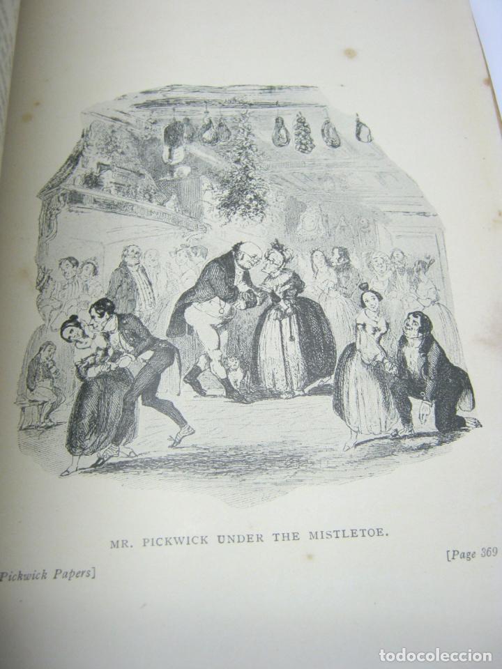 Libros antiguos: 1911 - THE POSTHUMOUS PAPERS OF THE PICKWICK CLUB. CHARLES DICKENS - bellas ilustraciones ex-libris - Foto 5 - 206829597