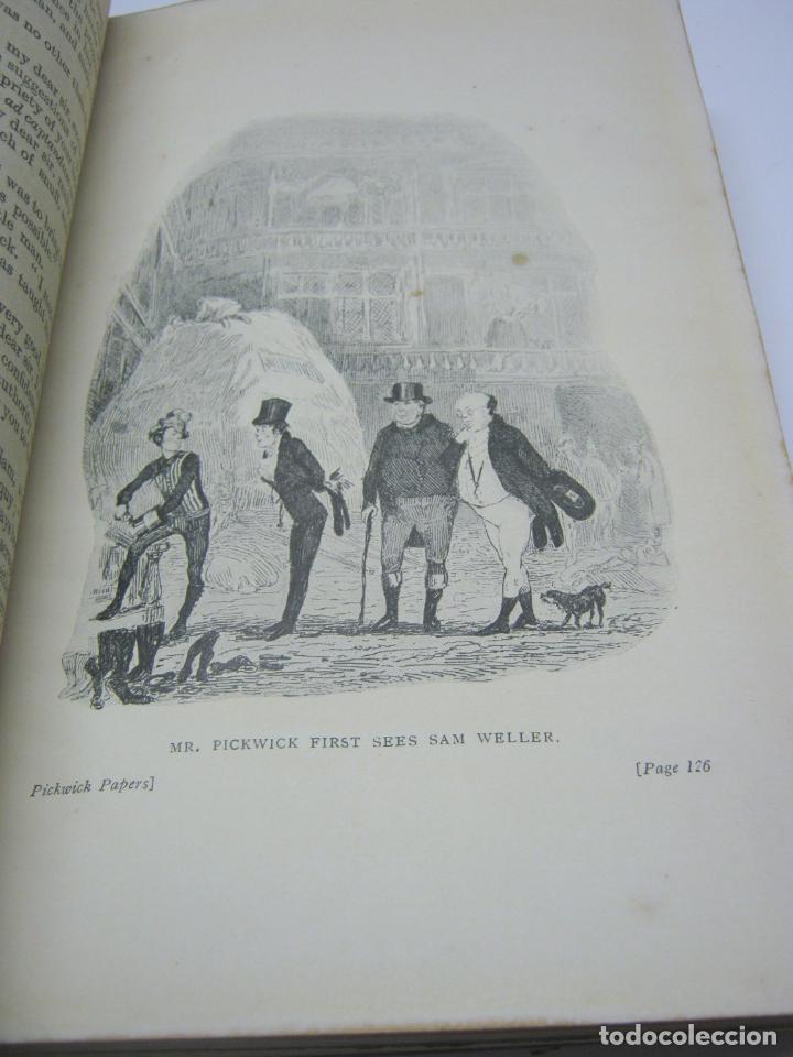 Libros antiguos: 1911 - THE POSTHUMOUS PAPERS OF THE PICKWICK CLUB. CHARLES DICKENS - bellas ilustraciones ex-libris - Foto 6 - 206829597
