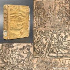 Libros antiguos: XVIII - DON QUIJOTE DE LA MANCHA - DON QUIXOTE - CERVANTES - GRABADOS - PERGAMINO. Lote 207052411
