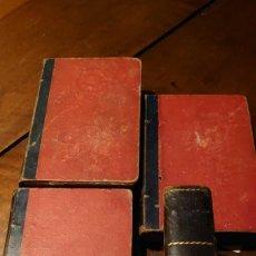 Libros antiguos: EL MANUSCRITO DE UNA MADRE 4 TOMOS ENRIQUE PÉREZ ESCRICH. Lote 207141268