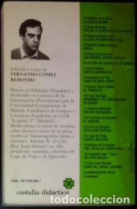 Libros antiguos: Libro Don Juan Manuel. Libro del Conde Lucanor. - Foto 2 - 207451871
