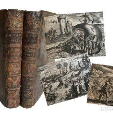 Libros antiguos: 1738. METAMORFOSIS DE OVIDIO CON CIENTOS DE GRABADOS AL COBRE. Lote 207471392