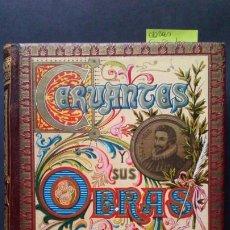 Libros antiguos: OBRAS - CERVANTES. Lote 207539708