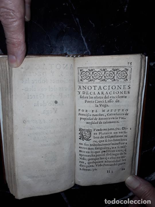 Libros antiguos: Garcilaso de la Vega. Obras. 1600.Buen clásico. - Foto 3 - 207625318