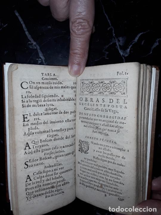Libros antiguos: Garcilaso de la Vega. Obras. 1600.Buen clásico. - Foto 5 - 207625318