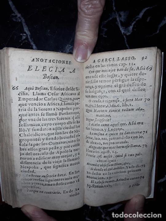 Libros antiguos: Garcilaso de la Vega. Obras. 1600.Buen clásico. - Foto 6 - 207625318