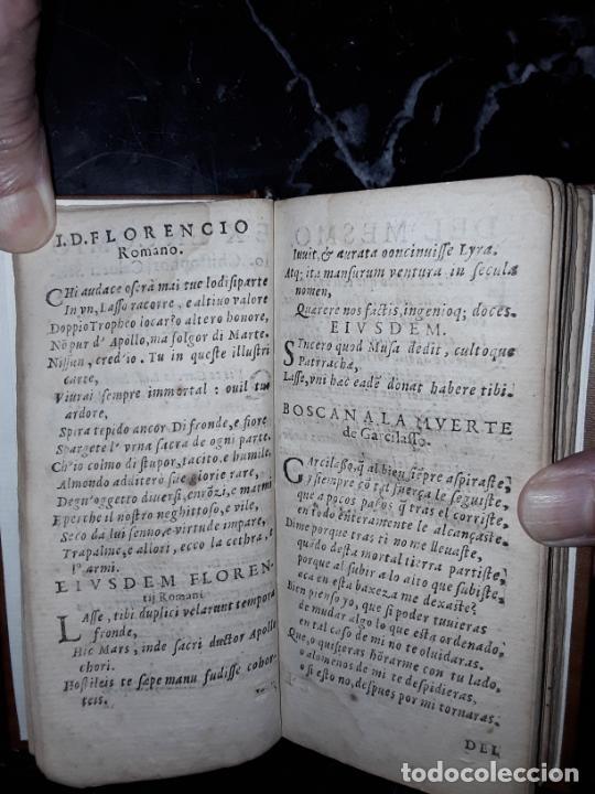 Libros antiguos: Garcilaso de la Vega. Obras. 1600.Buen clásico. - Foto 10 - 207625318
