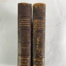 Libros antiguos: L-225. DON QUIJOTE DE LA MANCHA,M. DE CERVANTES. ED. FACSIMIL AÑO 1608-1615. 2 TOMOS.. Lote 207692863