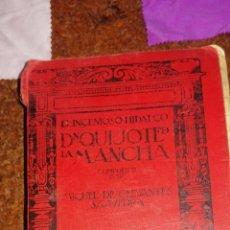 Libros antiguos: EJEMPLAR DEL INGENIOSO HIDALGO DON QUIJOTE DE LA MANCHA DEL AÑO 1915. Lote 208031667