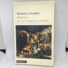 Libros antiguos: RAMON J SENDER REQUIEM POR UN CAMPESINO ESPAÑOL. Lote 208316338