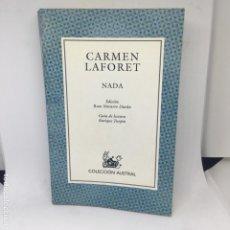 Libros antiguos: CARMEN LAFORET NADA. Lote 208317353