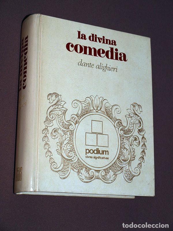LA DIVINA COMEDIA. DANTE ALIGHIERI. EDICIONES ZEUS, PODIUM, 1970. TRADUCE JUAN GODÓ. (Libros antiguos (hasta 1936), raros y curiosos - Literatura - Narrativa - Clásicos)