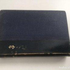 Livros antigos: POESIAS Y EL ESTUDIANTE SALAMANCA, ESPRONCEDA. Lote 208584840