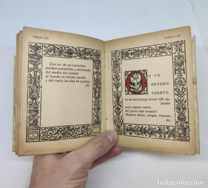 Libros antiguos: LIBROS DE HORAS. editorial CORONA : FRAY LUIS DE LEÓN (1917) - Foto 5 - 208600988