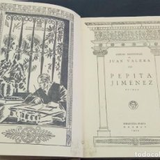 Libros antiguos: OBRAS ESCOGIDAS DE JUAN VARELA III, PEPITA JIMÉNEZ, BIBLIOTECA NUEVA, MADRID, 1925. Lote 208771986