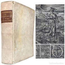Livros antigos: 1550 - POST-INCUNABLE - AGUSTÍN DE HIPONA: ENARRATIONES IN PSALMOS MYSTICOS - BIBLIA - 470 AÑOS. Lote 208938920