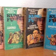 Livros antigos: KWAI CHANG CAINE MAESTRO DE KUNG FU - CADENAS - HOWARD LEE- GRIJALBO EN 1974.- COMPLETO. Lote 209127277