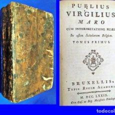 Livros antigos: AÑO 1779: OBRAS DE VIRGILIO.. Lote 209138057
