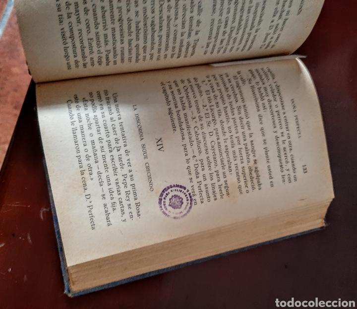 Libros antiguos: Doña Perfecta. - Foto 5 - 209159593