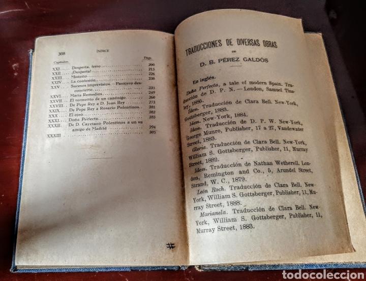 Libros antiguos: Doña Perfecta. - Foto 8 - 209159593