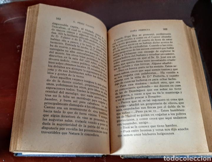 Libros antiguos: Doña Perfecta. - Foto 9 - 209159593