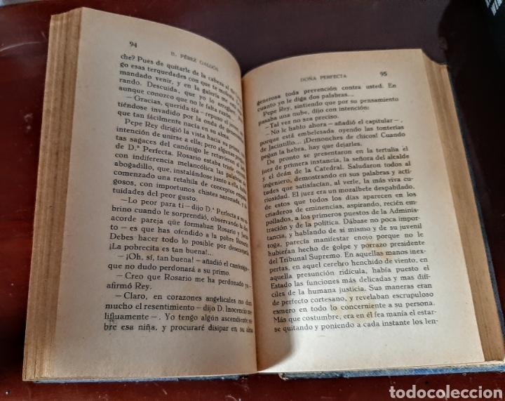 Libros antiguos: Doña Perfecta. - Foto 10 - 209159593