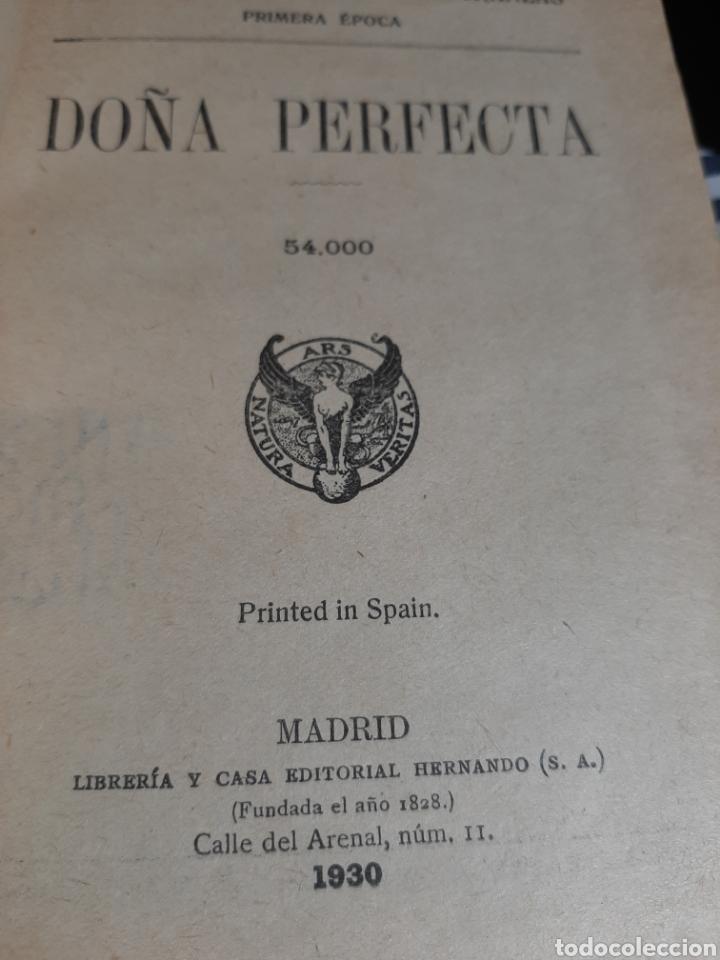Libros antiguos: Doña Perfecta. - Foto 16 - 209159593