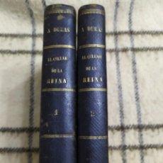 Libri antichi: 1870. EL COLLAR DE LA REINA. ALEJANDRO DUMAS. WENCESLAO AYGUALS DE IZCO. COMPLETA.. Lote 209171705